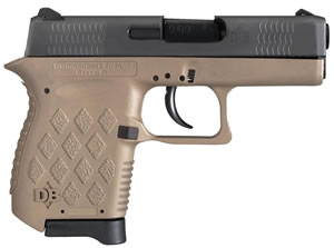 Diamondback DB9 Micro Compact Pistol DB9FDE, 9mm, 3 in, Flat Dark Earth Finish, 6+1