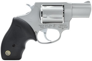 Taurus Model 85FS Revolver 2850029FS, 38 Special, 2 in BBL, Rubber Grip, Stainless Finish, 5 Rds