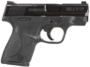 Smith & Wesson M&P Shield Ca Compliant Pistol 187020, 40 S&W, 3.1 in, Polymer Grip, Black Finish, 7+1