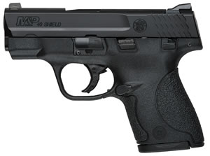 Smith & Wesson M&P Shield Ma Compliant Pistol 180050, 40 S&W, 3.1 in, Polymer Grip, Black Finish, 8+1