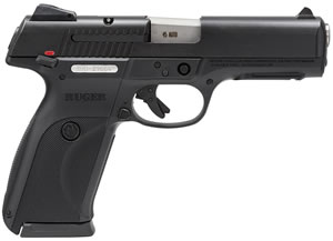Ruger BSR45 Pistol 3800, 45 ACP, 4.5 in, Black Grip, Black Finish, 10+1 Rd