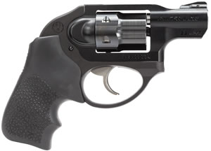 Ruger LCR Pistol 5414, 22 Magnum, 1.87 in, Hogue Tamer Grip, Black Finish, 6 Rd