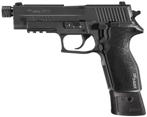 Sig Sauer Model P227 Tactical Pistol 227R45TAC, 45 ACP, 4.9 in Threaded BBL, Black Polymer Grip, Black Finish, 10+ 1 Rd, State Complaint Model