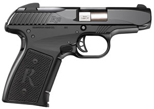 Remington R51 Pistol 96430, 9mm +P, 3.4 inch BBL, Single, Black Polymer Grips, Black Finish, 6+1 Rds