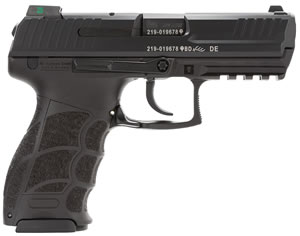 HK P30 LEM V1 Pistol 734001LEA5, 40 S&W, 3.9 inch BBL, LEM, Syn Grips, Night Sights, Black Finish, 13+1 Rds, 3 Mags