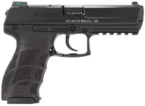 HK P30L LEM V1 Pistol 734001LLEA5, 40 S&W, 4.4 inch BBL, LEM, Syn Grips, Night Sights, Black Finish, 13+1 Rds, 3 Mags