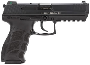 HK P30L V3 Pistol 734003LLEA5, 40 S&W, 4.4 inch BBL, Single/Double, Syn Grips, Night Sights, Black Finish, 13+1 Rds, 3 Mags