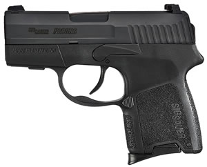 Sig Sauer P290RS SubCompact Pistol 290RS9EDC, 9mm, 2.9 inch BBL, Double Act Only, Intg Polymer Grips, Contrast Sights, Black Finish, 6+1 Rds