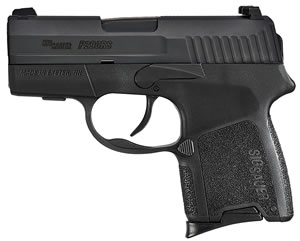 Sig Sauer P290RS SubCompact Pistol 290RS380EDC, 380 ACP, 2.9 inch BBL, Double Act Only, Intg Polymer Grips, Contrast Sights, Black Finish, 6+1 Rds