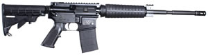 Smith and Wesson M&P 15 Optics Ready Rifle 151009, 5.56 Nato, 16 in, Semi Auto, 6 Pt Collapsible Stock, Black Finish, CA Compliant Model, 10 Rds