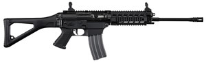 "Sig Sauer 556XI SWAT Modular Rifle R556XI-16B-S, 223 Rem/5.56 NATO, 16"" BBL, Semi Auto, Swiss Folding Stock, Black Finish, 30 + 1 Rd"