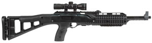 Hi Point Model TS Carbine 4595TS4XRGB, 45 CAL, 17.4 in, Semi Auto, Black Poly Stock, Black Finish, 9 + 1 Rds, w/RGB Scope