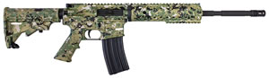 Diamondback DB-15 Rifle DB15DCG, 223 Rem/5.56 NATO, 16 in, Semi-Auto, Digital Camo Green 4-Pos Collapsible Stock, Digital Camo Green Finish, 30+1 Rds