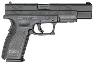 "Springfield XD9402 XD Essential Pistol, 40 S&W, 5"" BBL, Double Act, Black Polymer Grips, 3-Dot Dovetail Sights, Black Finish, 10+1 Rds"