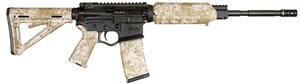 "ATI Omni Hybrid Rifle GOMX556S, 5.56 NATO, 16.1"" M4 Profile BBL, Semi Auto, 6-Pos Digital Desert Stock, Black Finish, 30+1 Rds"