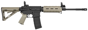 "Sig Sauer RM40016BECPFDE M400 Enhanced Rifle, 5.56 NATO, 16"" BBL, Semi Auto, Magpul MOE FDE Stock, Flat Dark Earth/Black Finish, 30+1 Rds"