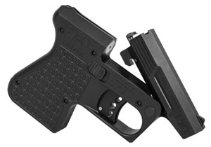 "Heizer PAR1BLK PAR1 Pocket AR Pistol, 223 Remington, 3.8"" BBL, Double Act, Integral Grips, Fixed Front Sights, Black Finish, 1 Rds"