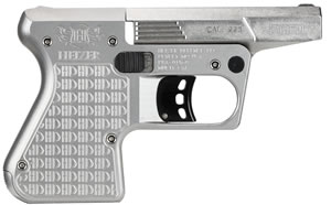 "Heizer PAR1SS PAR1 Pocket AR Pistol, 223 Remington, 3.8"" BBL, Double Act, Integral Grips, Fixed Front Sights, Stainless Finish, 1 Rds"