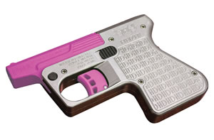 "Heizer PS1SSPN PS1 Pocket Shotgun Pistol, 45 Colt (LC), 3.5"" BBL, Double Act, Integral Grips, Fixed Front Sights, Pink Finish, 1 Rds"
