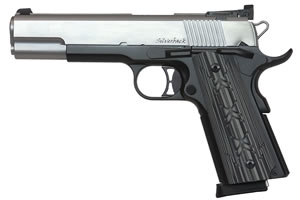 "Dan Wesson 01995 Silverback Pistol, 10mm, 5"" BBL, Single Act, Black/Gray G10 Grips, Truglo Front, Adj Rear Sights, Black Anodized Finish, 9+1 Rds"