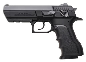 "IWI Jericho PL-40 Full-Size Polymer Frame Pistol J941PL4, .40 S&W, 4.4"" BBL, Semi-Auto, Single/Dbl Act, Black Grips, Adjustable Sights, Black Finish, 12+1 Rds"