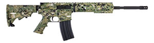 "Diamondback DB15DCGCA DB15 CA Comliant Rifle, 223 Remington, 16"" Hvy Free-Float BBL, Semi Auto, 4-Pos Stock, Digital Camo Green Finish, Rail"