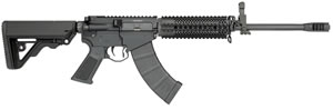 "Rock River LAR-47 Tactical Comp Rifle AK1275, 7.62X39, 16.0"" 4140 Chrome Lined Steel BBL, RRA Operator CAR Stock, Black Finish, 30+1 Rds"