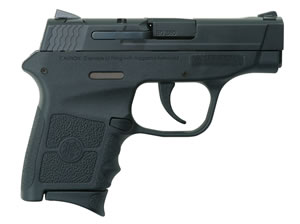 "Smith & Wesson M&P Bodyguard Pistol 10266, 380 ACP, 2.8"" BBL, Striker Fire, Integral Grips, Adj Sights, Black Finish, No Safety, 6+1 Rds"