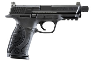 "Smith & Wesson M&P 9 Pro C.O.R.E. Pistol 10268, 9mm, 4.3"" Threaded BBL, Striker Fire, Integral Grips, 3-Dot Sights, Black Finish, 17+1 Rds"