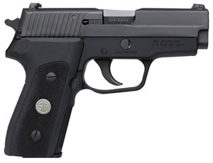 "Sig Sauer P225-A1 Pistol 225A-9-BSS-CL, 9mm, 3.6"" BBL, Single/Double Act, Black G10 Grips, Night Sights, Black Finish, 8+1 Rds"
