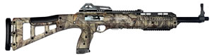 "Hi Point Carbine TS Rifle 495TS WC, 44 ACP, 16.5"" BBL, Semi-Auto, Skeletonized Stock, Woodland Style Camo Finish, 10 Rds"