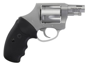 "Charter Arms Bulldog Boomer Revolver 64429, 44 Special, 2"" BBL, Double/Single, Rubber Grips, Fixed Sights, Nitride Finish, 5 Rds"
