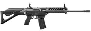 "Sig Sauer Model 556XI Modular Rifle R556XI-16B-C-CA, 223 Rem/5.56 NATO, 16"" BBL, Semi Auto, Swiss Folding Stock, Black Finish, 10 + 1 Rd, CA Compliant Model"