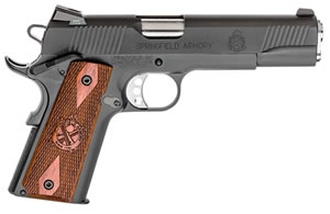 Springfield Loaded 1911-A1 Pistol PX9109LPCA, 45 ACP, 5 in in BBL, Sing / Dbl, Cocobolo Wood Grips, Parkerized Finish, 7 + 1 Rds, Trit Night Sights, CA Compliant