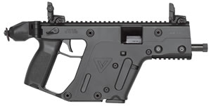 "KRISS Vector GEN II SDP Pistol KV45-PBL20, 45 ACP, 5.5"" Threaded BBL, Semi-Auto, Poly Grips, Flip-Up Sights, Black Finish, 13+1 Rds"