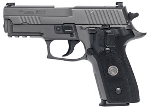 "Sig Sauer P229 Legion Pistol 229R-9-LEGION, 9mm, 3.9"" BBL, Single/Double, Black G10 Grips, X-Ray3 Sights, Gray PVD Finish, 10+1 Rds"
