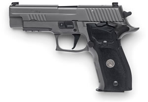 "Sig Sauer P226 Legion SAO Pistol E26R-9-LEGION-SAO, 9mm, 4.4"" BBL, Single Action, Black G10 Grips, X-Ray3 Sights, Gray PVD Finish, 15+1 Rds"
