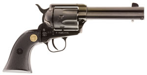 Chiappa 1873-22 SSA Revolver 340250, 22 LR, 4.75 BBL, Sing Act, Fixed Sights, Black Finish, 6 Rds