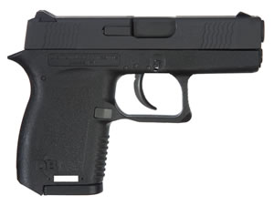 "Diamondback DB380EXNS DB380 Pistol, 380 ACP, 2.8"" BBL, Double Act, Black Polymer Grips, Adj Night Sights, Black Finish, 6+1 Rds"