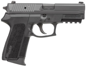 Sig Sauer SP2022 Pisto SP2022M9B, 9mm, 3.9 inch BBL, Single/Double, Black Polymer Grips, Contrast Sights, Black Nitron Finish, 10+1 Rds, Ma Compliant Model