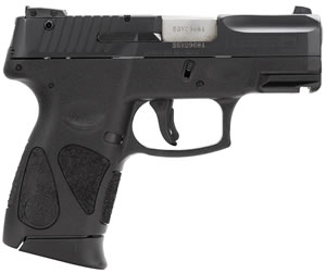 "Taurus PT-140 Millennium Pro Pistol 1140031G211, 40 S&W, 3.2"" BBL, Single/Double, Black Polymer Grips, Fixed Front Sights, Blue Finish, 11+1 Rds"