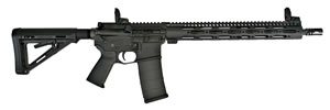 CORE 15 Tac III Rifle 10661, 223 Rem/5.56 NATO, 16 in BBL, Semi Auto, 6-Pos Collapsible Stock, Black Finish, 30+1 Rds