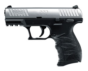 "Walther CCP Pistol 5080301, 9mm, 3.5"" BBL, Single, Integral Grips, 3-Dot Adj Low Profile Sights, Two Tone Finish, 8+1 Rds"