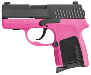 "Sig Sauer P290RS Sub Compact Pistol 290RS-380-BSS, 380 ACP, 2.9"" BBL, Double Act, Black Interchangeable Backstrap Grips, Night Sights, Black Nitron Finish, 6+1/8+1 Rds"