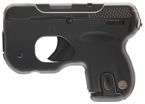 "Taurus 1180031 180 Curve Pistol, 380 ACP, 2.5"" BBL, Double Act, Black Polymer Grips, None Sights, Black Finish, 6+1 Rds"