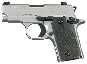 "Sig Sauer 238380HDNI P238 HD Pistol, 380 ACP, 2.7"" BBL, Single Act, Contrast Sights, 6+1 Rds"