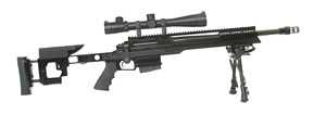 "Armalite AR-31 Target Rifle 31BTC308, 308 Winchester, 18.0"" Chrome Moly Steel BBL, Bolt Action, Adj Black Stock, Black Finish, 25+1 Rds"