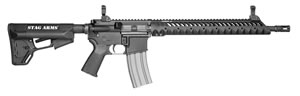 "Stag Model 3TM Rifle SA3TM, 5.56 NATO, 16.0"" Chrome Lined BBL, Magpul ACS Black Stock, Black Hard Coat Finish, 30+1 Rds, Flip Up Sights"