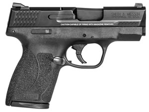 "Smith & Wesson M&P Shield Pistol 11531, 45 ACP, 3.3"" BBL, Black Finish, 6+1/7+1"