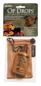McNett Tactical 44052 Op Drops Anti-Fog and Lens Cleaning System 1.25oz w/Microfiber Pouch